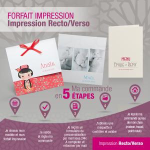 Forfait Impression Texte - Recto Verso