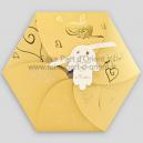 Faire Part Mariage - Bouton d'Or