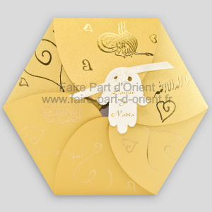 Faire Part Mariage - Tadla Or